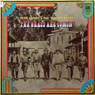 Herb Alpert & The Tijuana Brass - The Brass Are Comin' (LP, Album)