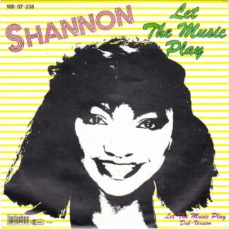 "Shannon - Let The Music Play (7"", Single)"