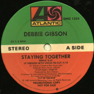"Debbie Gibson - Staying Together (12"", Promo)"