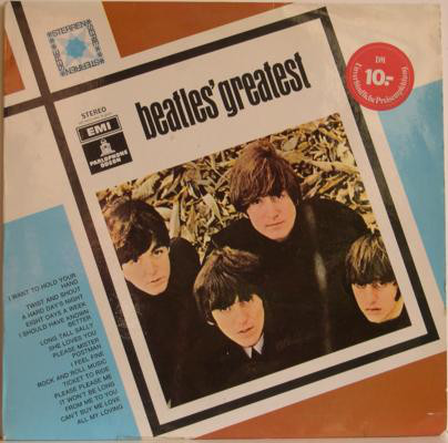 The Beatles - Beatles' Greatest (LP, Comp, RE)