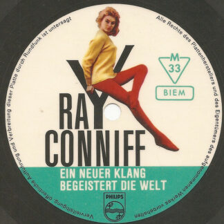 "Ray Conniff - Ein Neuer Klang Begeistert Die Welt (Flexi, 7"", Shape, S/Sided, Pic, Smplr)"