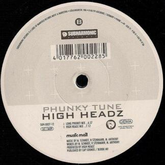 """High Headz - Phunky Tune (12"""")"""