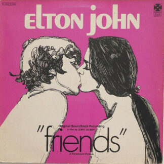 Elton John - Friends (Original Soundtrack Recording) (LP, Album)
