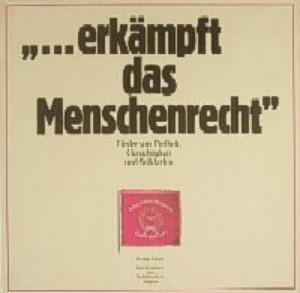"""Lerryn - """"...Erkämpft Das Menschenrecht"""" - Lieder Von Freiheit, Gerechtigkeit Und Solidarität (LP)"""