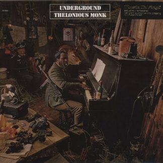 Thelonious Monk - Underground (LP, Album, RE, RM, 180)