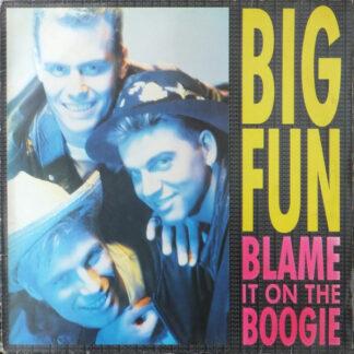 """Big Fun - Blame It On The Boogie (12"""", Maxi)"""