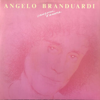 Angelo Branduardi - Canzoni D'Amore (LP, Comp)