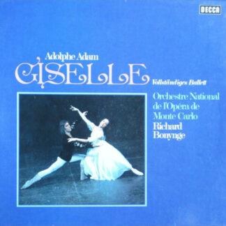 Adolphe Adam* - Orchestre National De L'Opéra De Monte Carlo*, Richard Bonynge - Giselle (Vollständiges Ballett) (Box + 2xLP)