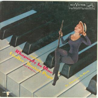 Gershwin* / Fiedler* Conducting Boston Pops*, Earl Wild - Rhapsody In Blue / An American In Paris (LP, Mono, Ind)