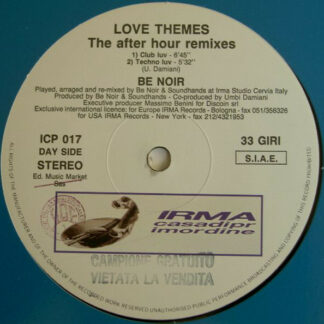"""Be Noir - Love Themes (The After Hour Remixes) (12"""")"""