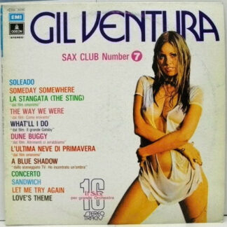 Gil Ventura - Sax Club Number 7 (LP, Album)