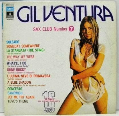 Gil Ventura - Sax Club Number 7 (LP, Album)