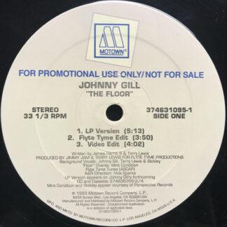 "Johnny Gill - The Floor (Remix) (12"", Promo)"