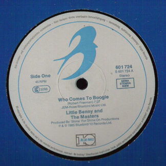 """Little Benny And The Masters* - Who Comes To Boogie (12"""")"""