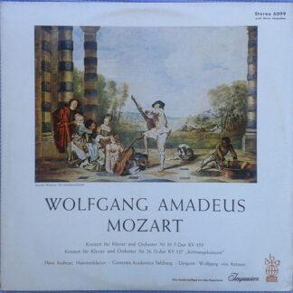 Mozart*, Hans Andreae, Camerata Academica Salzburg, Wolfgang von Karajan - Konzert Für Klavier Und Orchester Nr. 19 & Nr. 26 ,,Krönungskonzert'' (LP)
