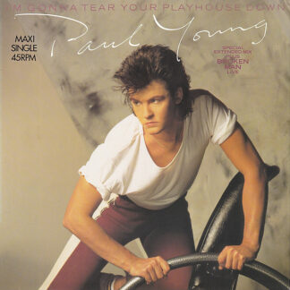 """Paul Young - I'm Gonna Tear Your Playhouse Down (12"""", Maxi)"""