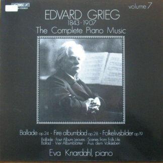 Edvard Grieg - Eva Knardahl - The Complete Piano Music Volume 7 (LP)
