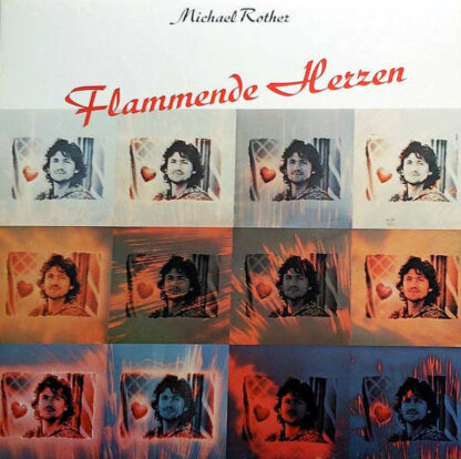 Michael Rother - Flammende Herzen (LP, Album, RP)