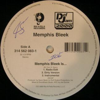 "Memphis Bleek - Memphis Bleek Is... / Murda 4 Life (12"")"