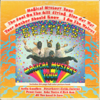 The Beatles - Magical Mystery Tour (LP, Album, Los)