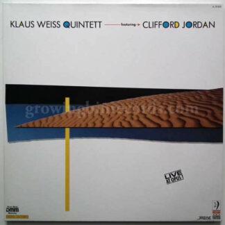 Klaus Weiss Quintett* Featuring Clifford Jordan - Live At Opus 1 (2xLP, Album)
