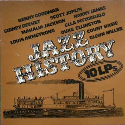 Various - Jazz History 10 LPs (10xLP, Comp + Box)