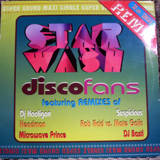 "Star Wash - Disco Fans (The Remixes) (2x12"")"