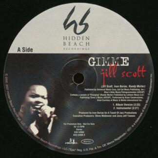 Jill Scott - Gimme / He Loves Me (Lyzel In E Flat) (Illegal Remix) (12