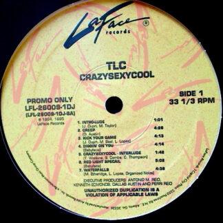 TLC - CrazySexyCool (LP, Album, Promo)
