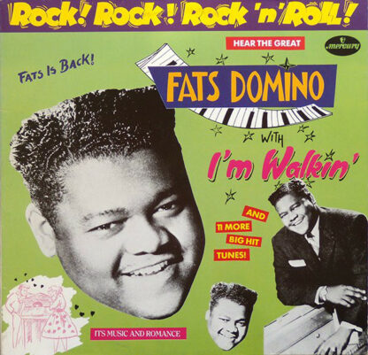 Fats Domino - Rock! Rock! Rock 'n' Roll! (LP, Comp)