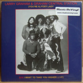 "Larry Graham & Graham Central Station - (You're A) Foxy Lady (7"", Ltd)"