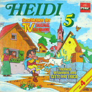 Johanna Spyri - Heidi 5 (LP)