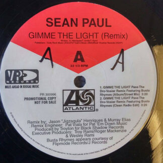 Sean Paul - Gimme The Light (Remix) (12