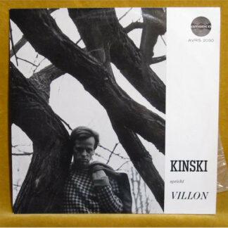 "Kinski* / Villon* - Kinski Spricht Villon (10"", Album, Mono)"