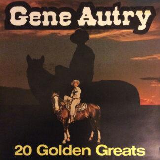 Gene Autry - 20 Golden Greats (LP, Comp)