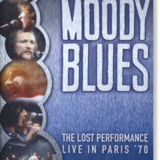 The Moody Blues - The Lost Performance [Live In Paris '70] (DVD, PAL)