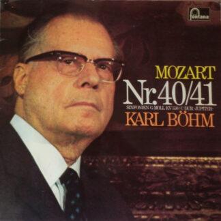 Mozart* - Karl Böhm, Concertgebouw-Orchester Amsterdam* - Sinfonie Nr. 40 G-Moll KV 550 / Sinfonie Nr. 41 C-Dur »Jupiter« (LP)