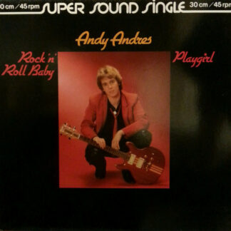 """Andy Andres - Rock 'n' Roll Baby (12"""", Single, Sup)"""