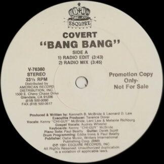 "Covert (7) - Bang Bang (12"", Promo)"