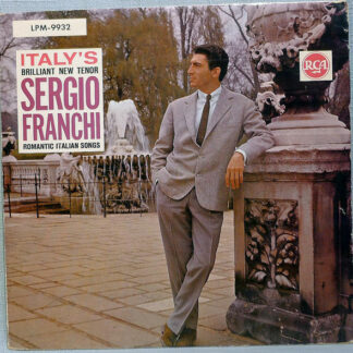 Sergio Franchi - Romantic Italian Songs (LP, Album, Mono)