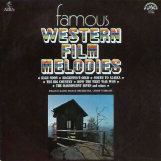 Prague Radio Dance Orchestra* / Josef Vobruba - Famous Western Film Melodies (LP, Album)