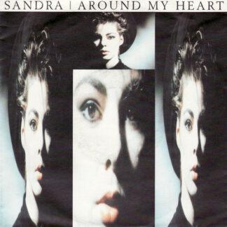 "Sandra - Around My Heart (7"", Single)"