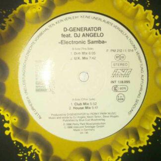 "D-Generator* Feat. DJ Angelo* - Electronic Samba (12"")"