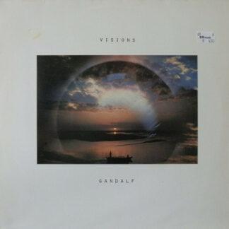 Gandalf - Visions (LP, Album, RE)