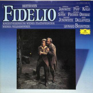 Ludwig van Beethoven - Leonard Bernstein - Konzertvereinigung Wiener Staatsopernchor* - Wiener Philharmoniker - Fidelio - Oper In Zwei Aufzügen (3xLP, Album, RE + Box)