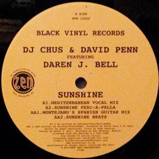 DJ Chus & David Penn - Sunshine (12