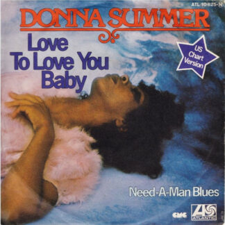 """Donna Summer - Love To Love You Baby (7"""", Single, RE)"""
