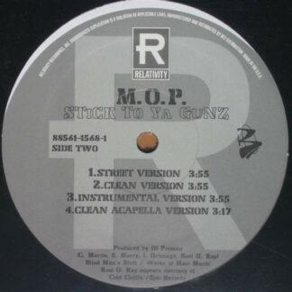 "M.O.P. - Dead & Gone / Stick To Ya Gunz (12"")"