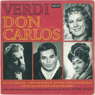 Verdi* ' J. S. Bach* - Don Carlos / Johannes Passion (7