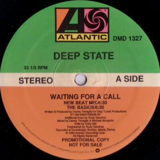 "Deep State - Waiting For A Call (12"", Promo)"